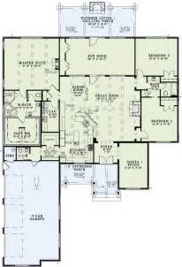 open living floor plans traditional style house plans 3307 square foot home 1