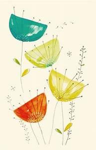 epingle par sur draw design pinterest aquarelles With affiche chambre bébé avec abonnement fleurs mensuel