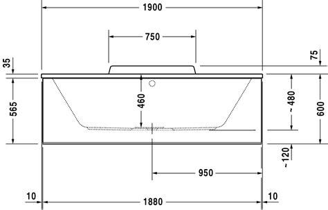 baignoire taille standard solutions pour la d 233 coration