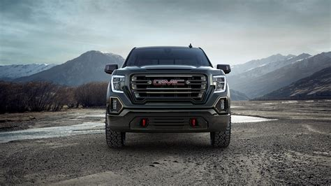 2019 Gmc Sierra At4 Crew Cab 4k Wallpaper