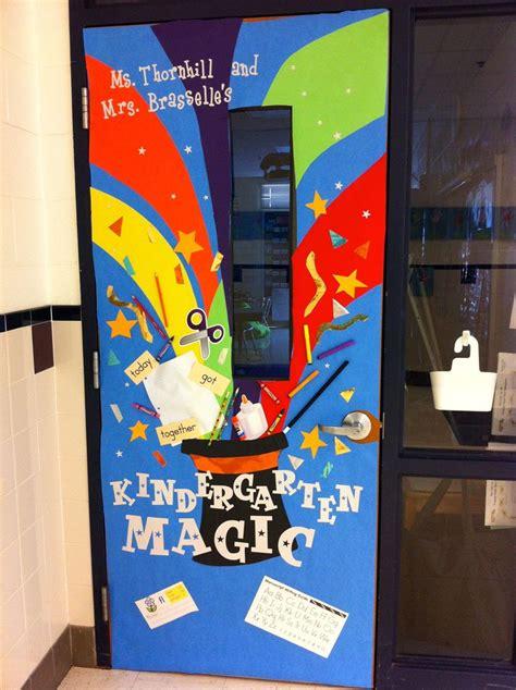 magic theme classroom door decoration  teacher