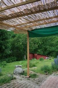 Pergola En Bambou : construire une pergolas en bois forum jardinature ~ Premium-room.com Idées de Décoration