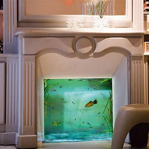room   aquarium    unusual places