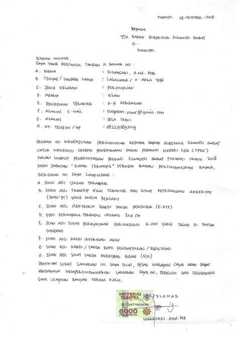 Contoh Surat Sakit Tulis Tangan by Contoh Surat Lamaran Kerja Nehanesia