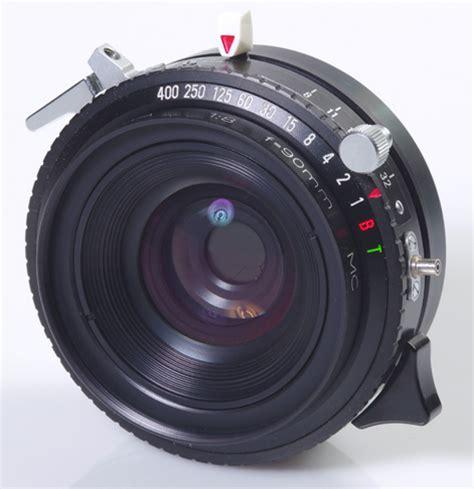 chambre 4x5 objectif rodenstock geronar wa 8 90mm pour chambre 4x5