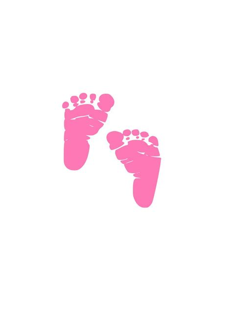 Baby Feet Svg Cutting File For Cricut And Silhouette