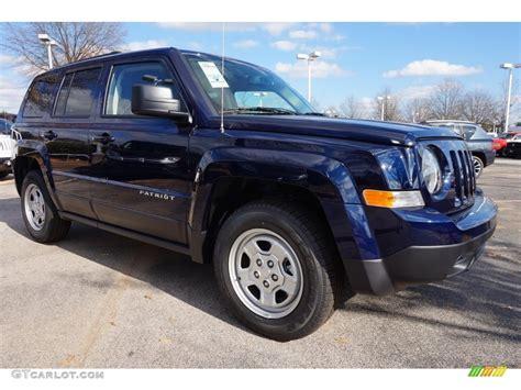 dark green jeep patriot 2016 true blue pearl jeep patriot sport 109306272 photo