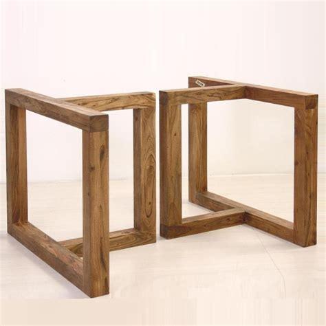base tavolo legno base in legno per tavolo basi per tavoli legno