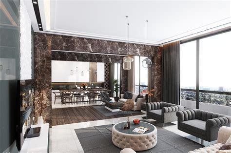 kitchen island idea inspiration ultra luxury apartment design