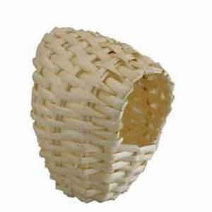 Pouf En Osier : nid en osier avec crochets pour exotiques qualitybird tout pour l 39 levage des oiseaux ~ Teatrodelosmanantiales.com Idées de Décoration