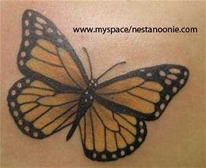 Gallery For > Monarch Butterfly Tattoo Design