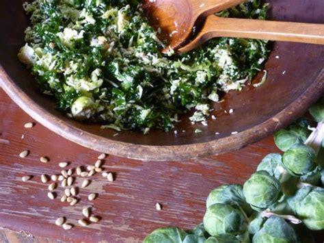 kale  brussels sprout salad recipe nancy fuller food network