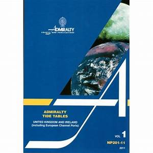 Admiralty Manual Of Tides