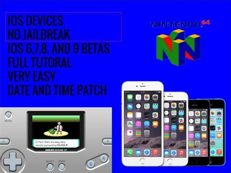 Install Gba Emulator & Games Without A Jailbreak Ios 8 / 7