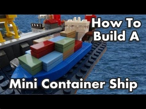 lego ship sinking in pool lego cargo ship sinking how to save money and do it