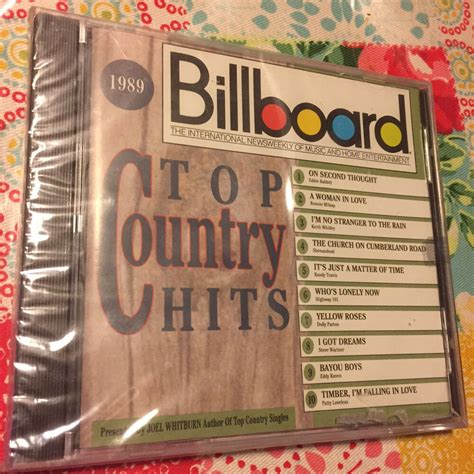 This is our top 40 hip hop songs of 1989. Billboard Top Country Hits 1989 CD BRAND NEW & FACTORY SEALED RARE OOP Rhino   eBay