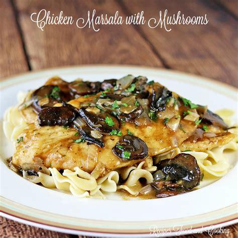 marsala cuisine chicken marsala with mushrooms