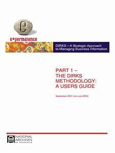 The Dirks Methodology  A User Guide