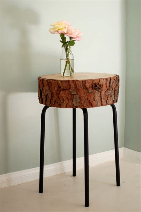 diy wood cross section decor ideas