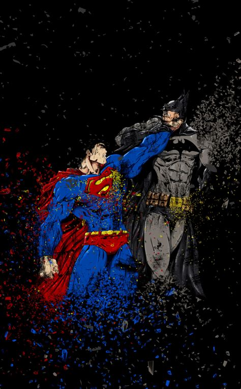 batman  superman ruggon style hd  wallpaper