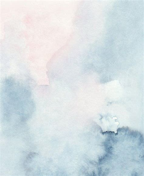 Wandgestaltung Himmel by Printable Abstract Watercolor Wall Sky Print