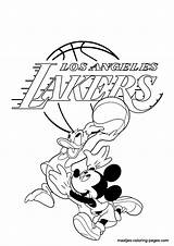 Lakers Coloring Pages Angeles Los Nba Dodgers Printable Print Disney Mickey La Synonyms List Clip Basketball Popular Word Getcolorings Library sketch template