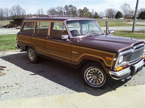 purchase   jeep grand wagoneer vintage woody