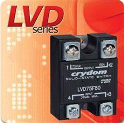 Crydom Announces The Lvd Series Panel Mounted Low