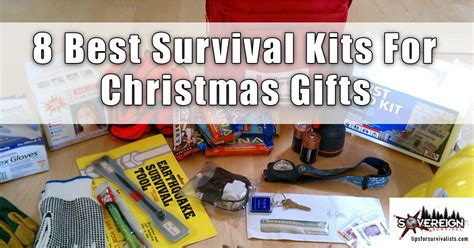 8 best survival kits for christmas gifts tips for