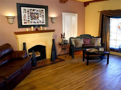 spanish style living room hgtv