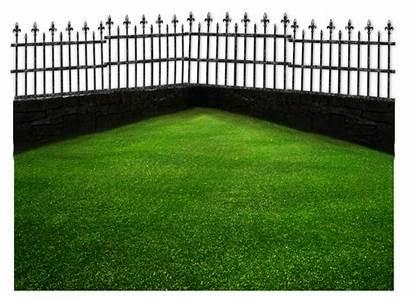 Fence Grass Deviantart Landscap Transparent Nature Moonglowlilly
