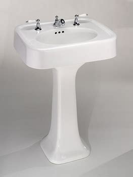 st thomas creations  liberty pedestal sink