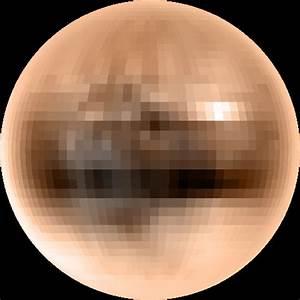 Color of Pluto