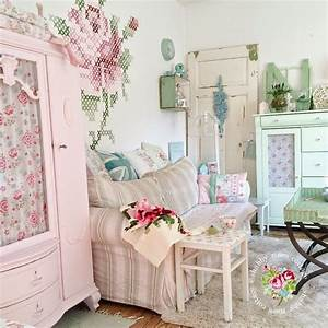 Gartenhaus Shabby Chic : shabby roses cottage shabby chic pinterest wohnzimmer shabby chic und shabby chic deko ~ Markanthonyermac.com Haus und Dekorationen