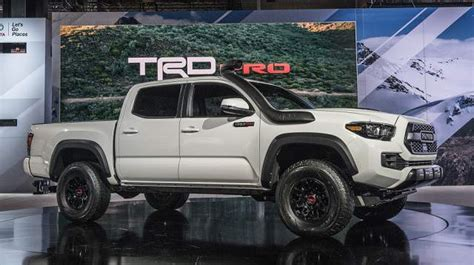 2019 Toyota Tacoma Trd Pro Specs, Release Date 20182019