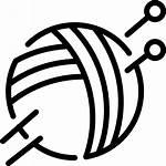 Knitting Svg Icon Icons Knit Handicrafts Pattern