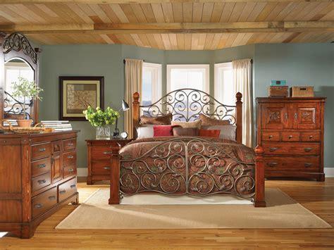 mahogany bedroom furniture post bed solid wood bed