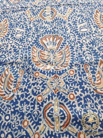 jual kain batik tulis warna alam motif sido mukti coklat
