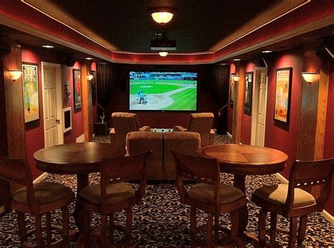 man cave  home theater set  home theater setup