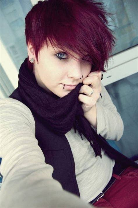 short emo hairstyles for girls 2018 latest style