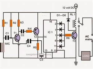 4 Simple Clap Switch Circuits  Tested