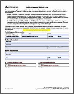 Washington vehicle bill of sale form free fillable pdf forms for Bill of sale template wa