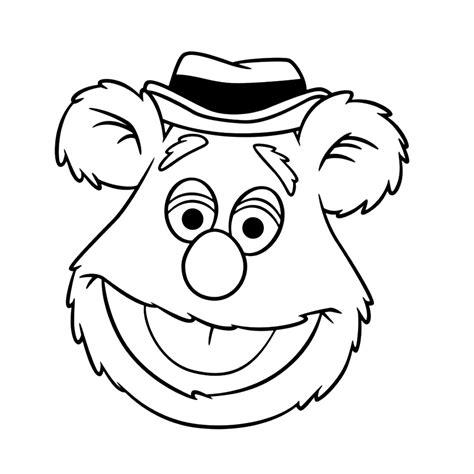 Kleurplaten Muppet Show by Leuk Voor Fonzie