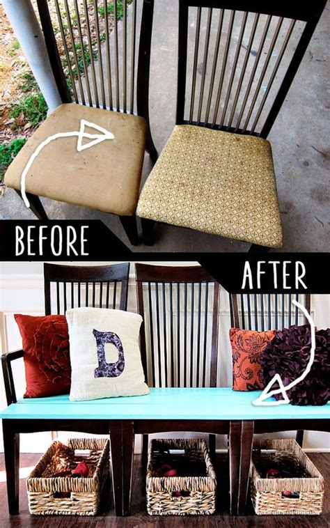 diy furniture hacks  kitchen chairs  pinterest