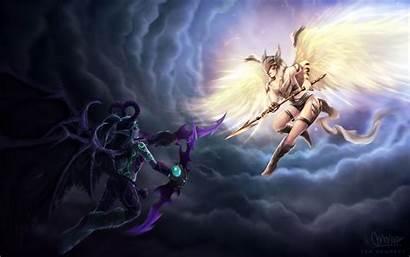 Warcraft Hunter Demon Wallpapers Wow Legion 4k