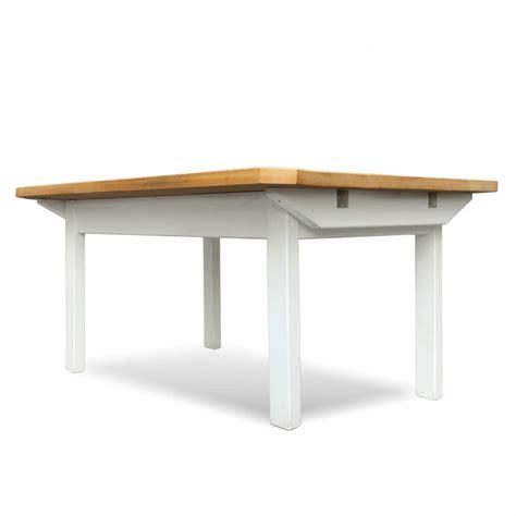 Esstisch Weiss Holz by Esstisch Massiv Holz Ausziehbarer Tisch Wei 223 Landhausstil