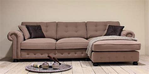 Lounge Sofa Ecke Landhaus Stil Couch Sitzecke Lform