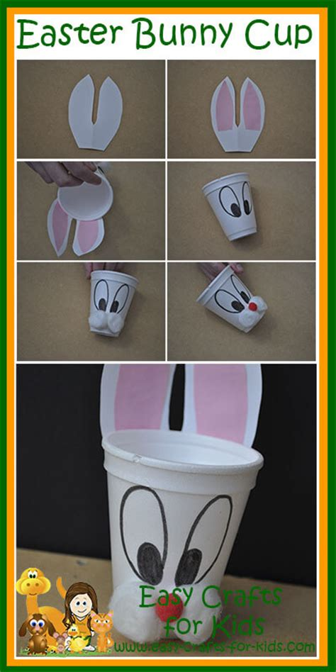 easter crafts  kids  easter themed cup  fill