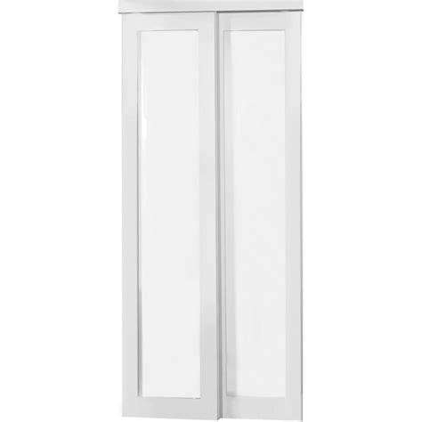 Shop Reliabilt Mdf Sliding Closet Door With Hardware