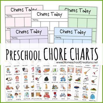preschool chore charts 580 | Preschool Chore Chart example